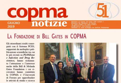 Giugno 2019 – La fondazione di Bill Gates in Copma