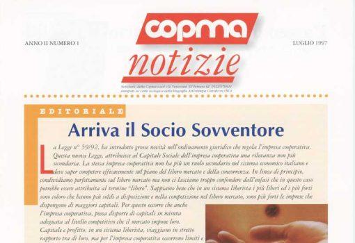 Luglio 1997 – Arriva il socio sovventore