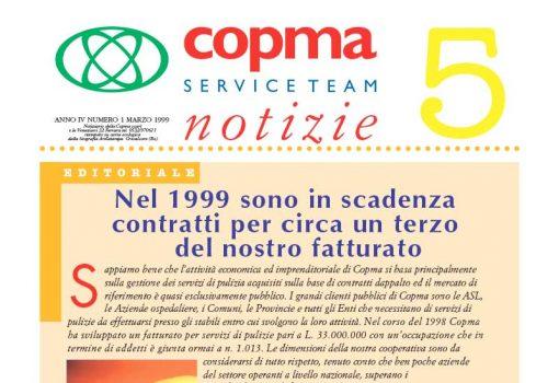 Marzo 1999 – Nel 1999 sono in scadenza contratti per circa un terzo del nostro fatturato