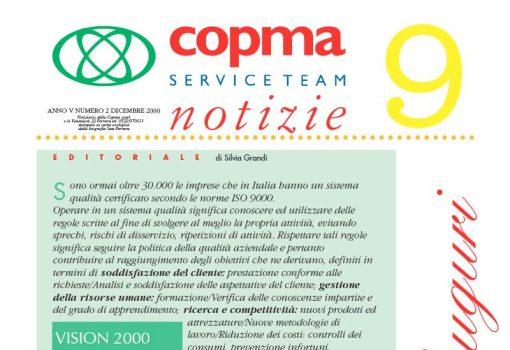 Dicembre 2000 – Vision 2000 e la politica della qualità