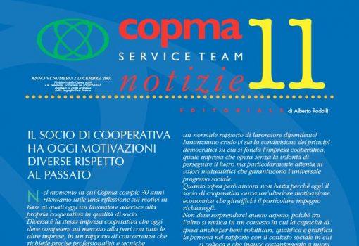 Dicembre 2001 – Il socio di cooperative ha oggi ragioni diverse rispetto al passato