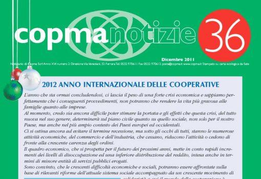 Dicembre 2011 – 2012 anno internazionale delle cooperative